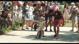 Дитячі велоперегони в Хусті стали рекордними за кількістю учасників